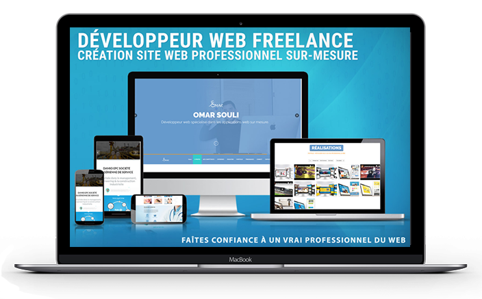 site Internet responsive en tunisie freelance